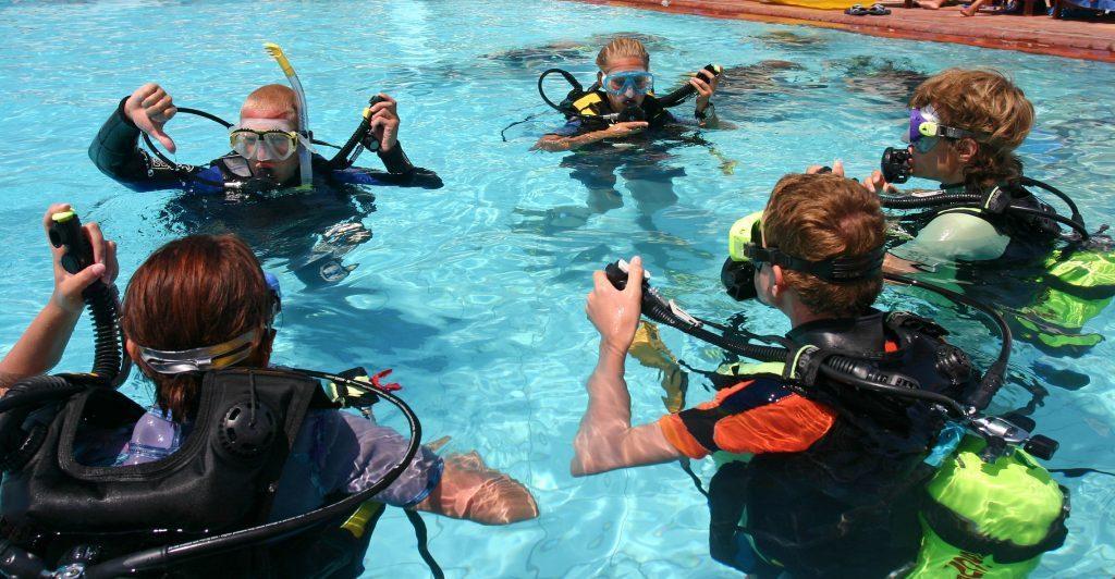 discover scuba in alaska