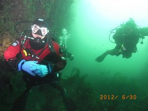 Diving this weekend
