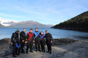 Dive Alaska Scuba Team