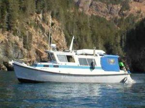 Dive Alaska Boat