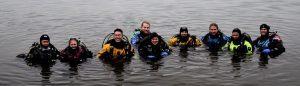 scuba dive alaska diving matanuska lake