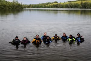 Alaska Search, Rescue, and Recovery Team training
