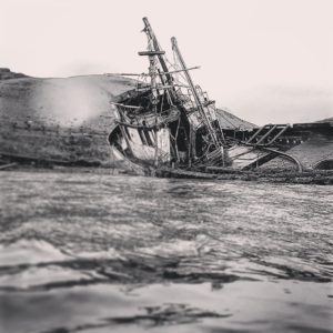 shipwreck nirvana boat black and white photography beached derelict