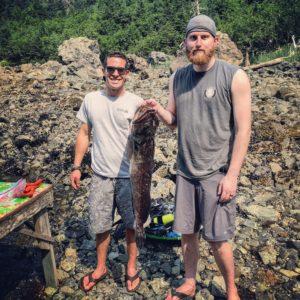 ling cod fishing spearfishing seward resurrection bay kayak scuba fish tacos jbl spearguns