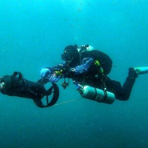 DPV Technical Diving, GUE Alaska