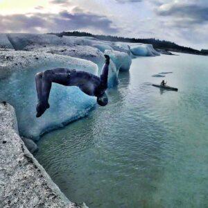 Exploring Cordova and Glacier Acrobatics