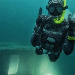 Freediving Training Outside Anchorage, Alaska