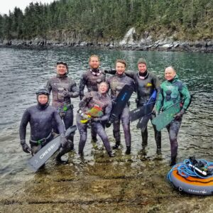 alaska freediving freediver diving ak